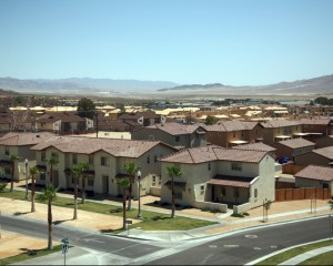 One of the housing projects at the center of the dispute, this one at Fort Irwin in California.